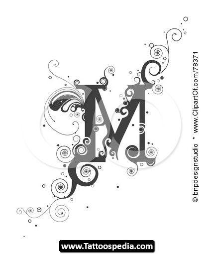 fancy letter m designs wwwpixsharkcom images