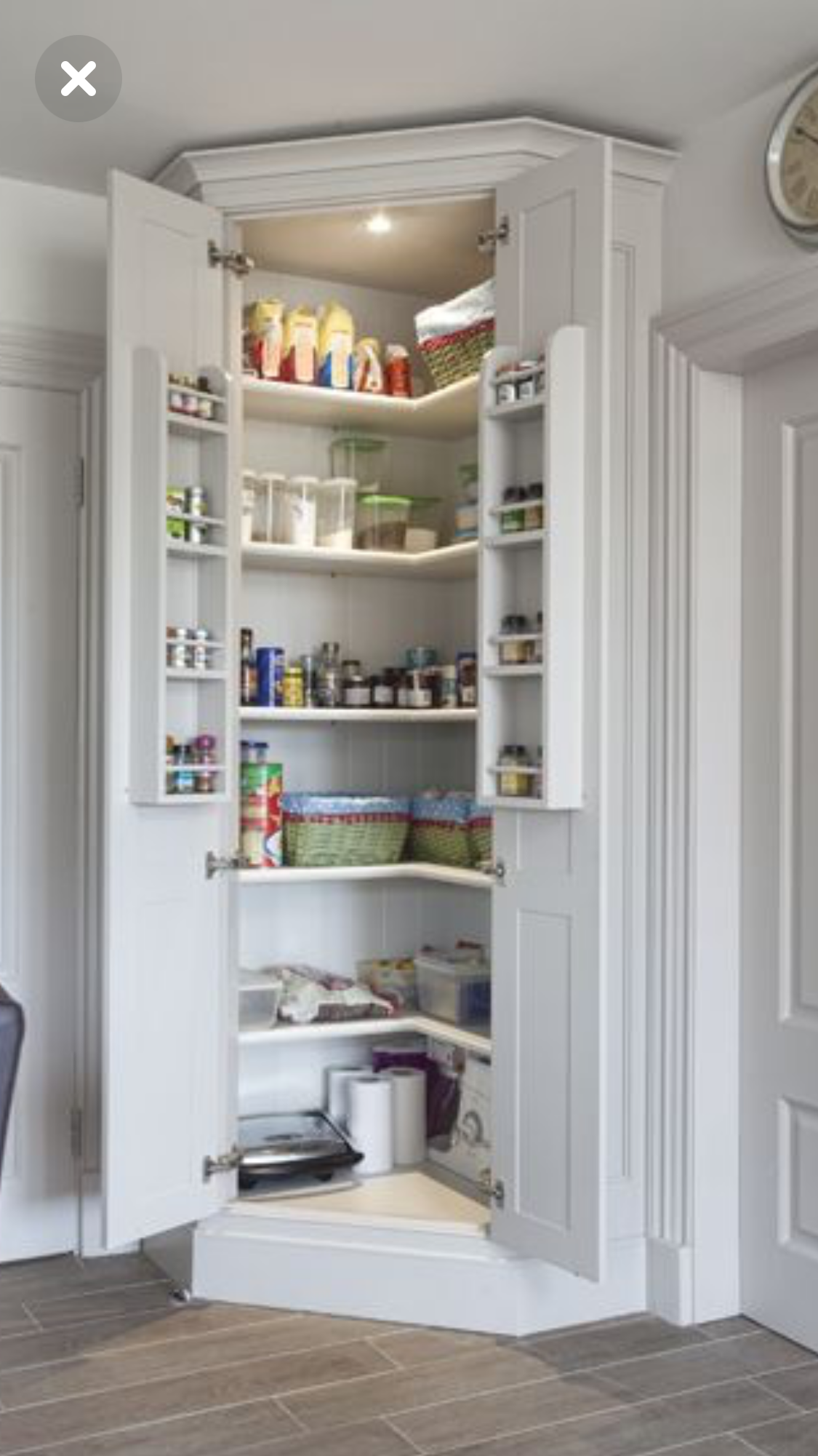 Pin By Joscelyn Marriott On Pantry Shelving Bespoke Kitchen Cabinets Kitchen Pantry Cupboard Pantry Design