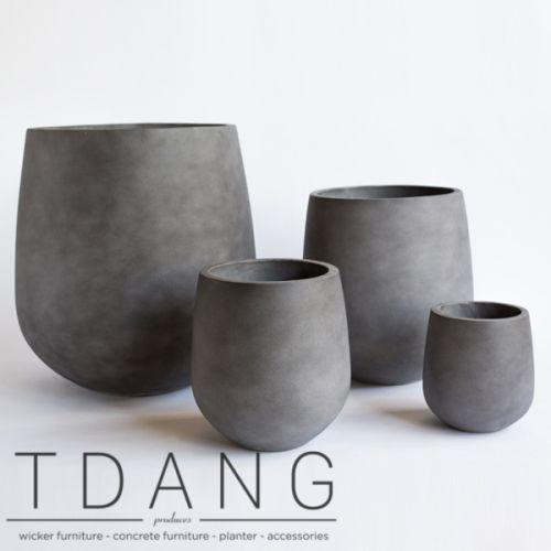Lightweight Concrete Pot Lightweight Cement Pot Grc Pots Fiberclay Pots Fiber Cement Pots Flower Pots Outdoor Pot Designs Concrete Planters