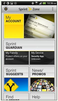 Sprint Guardian - the next best thing to putting a GPS on your teen's butt. (ha).