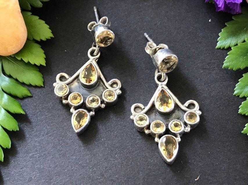 handmade,long earrings hammered oxidized,jewelry antique earrings tribalchic earrings.hammered earrings dangling earrings