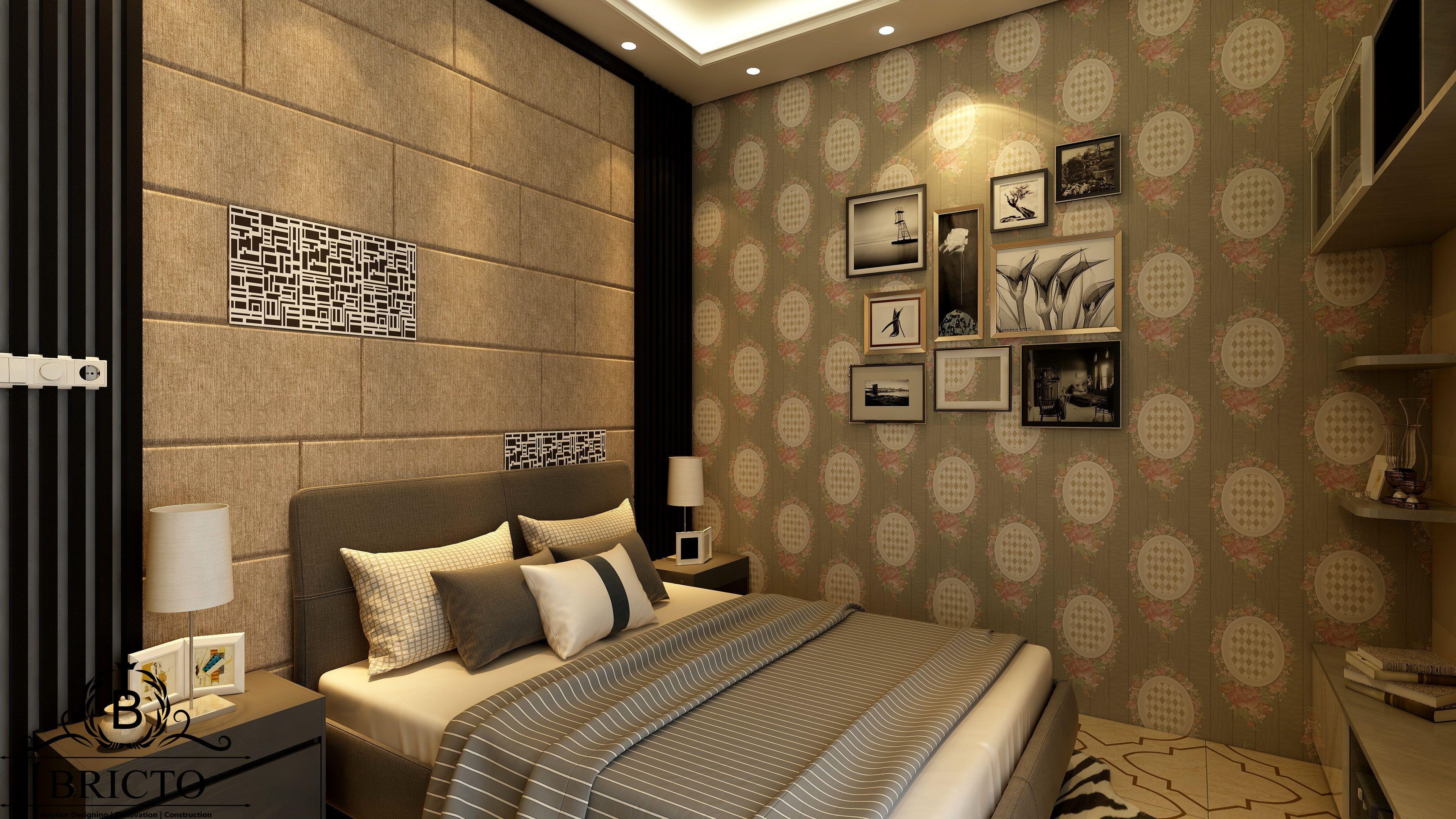 Modern Bedroom design, Modern bed design, Wallpaper design