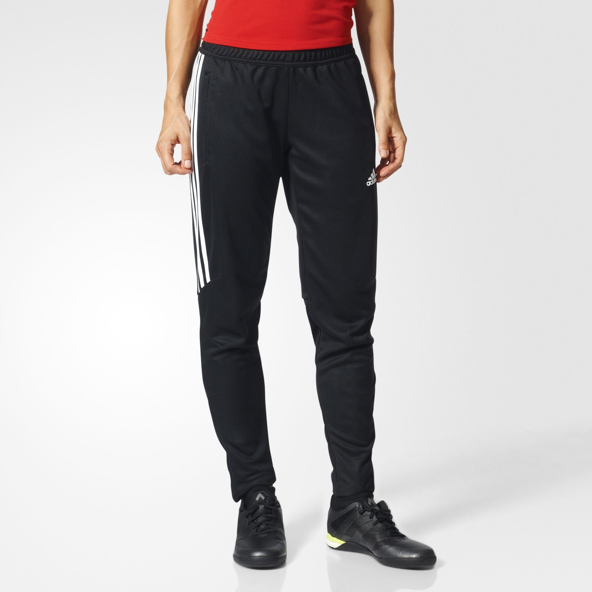 502186cf5 adidas - Tiro 17 Training Pants Size Large Black / White / White or Grey /  White / White