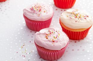 Kool-Aid Drink Mix is the secret ingredient to whipping up this fruity flavor cupcake recipe.