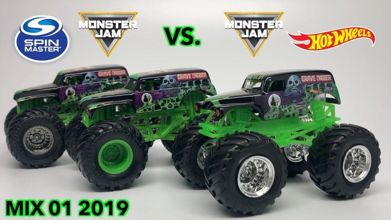 spin master vs hot wheels monster jam