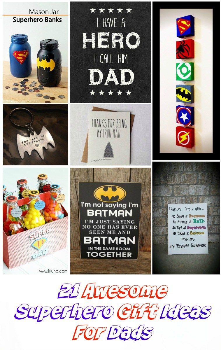 21 Superhero Gift Ideas For Dad