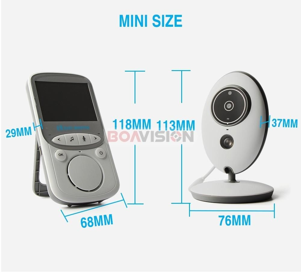 Wireless LCD Audio Video Baby Monitor #audiovideo