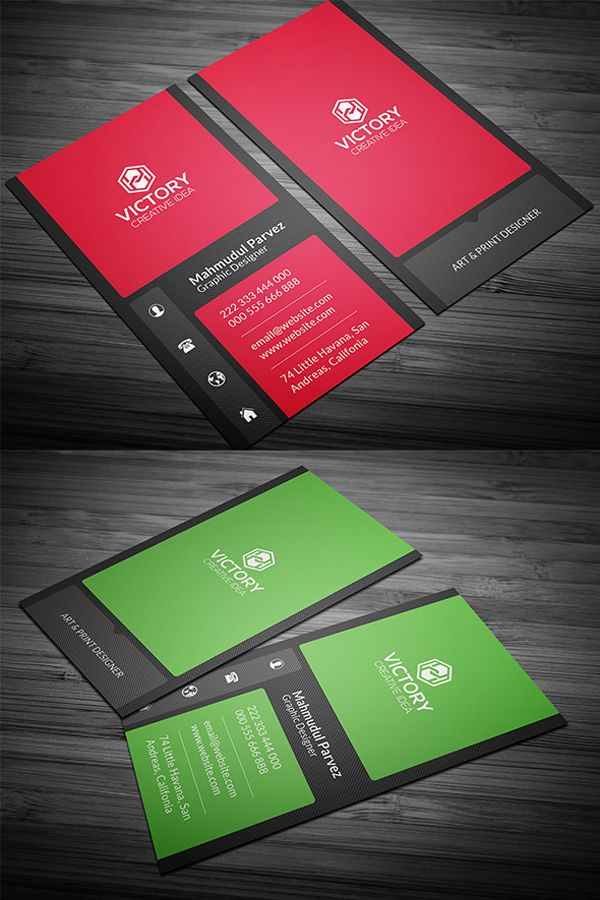 Elegant creative business card creative cards pinterest elegant creative business card reheart Choice Image