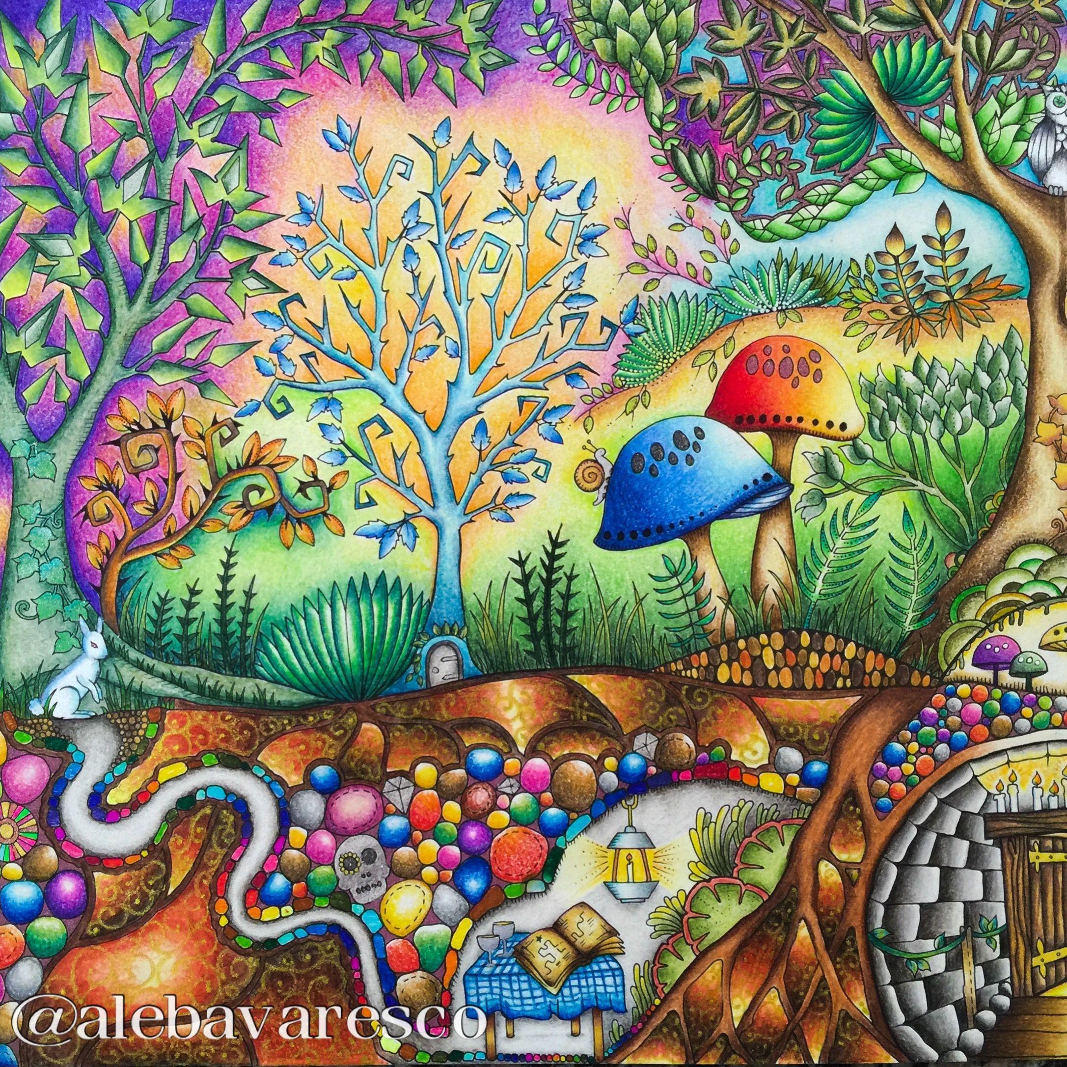 Pin tillagd av Ruth O'Hara på Secret Garden Enchanted Forest Pinterest