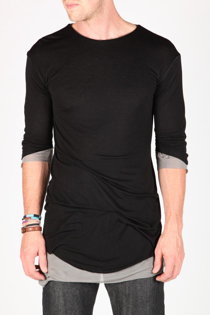 Double layer tee by Song For The Mute   Shirt   machus