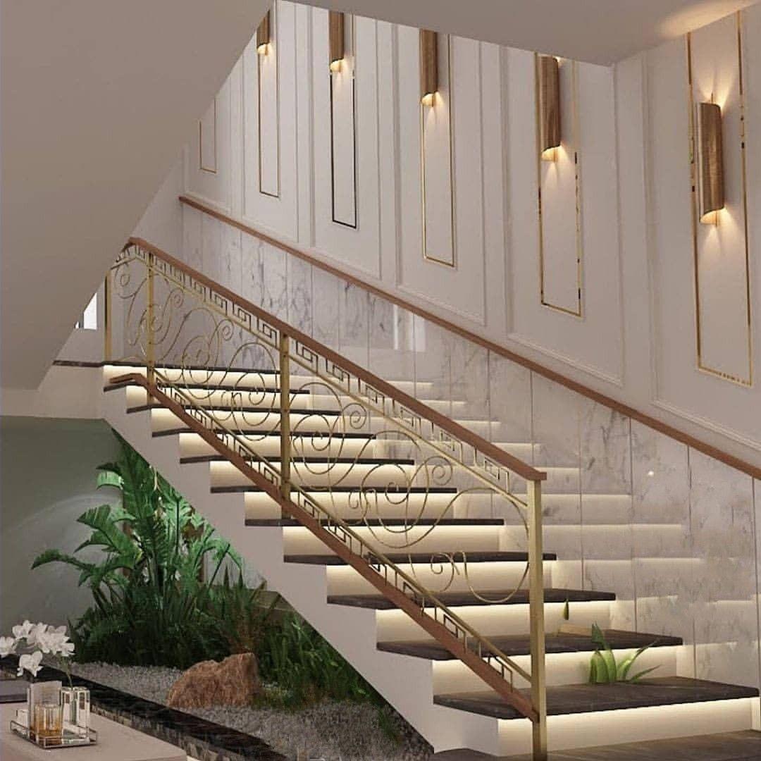 ديكور درج مودرن Classic House Exterior Modern Stairs Modern Staircase