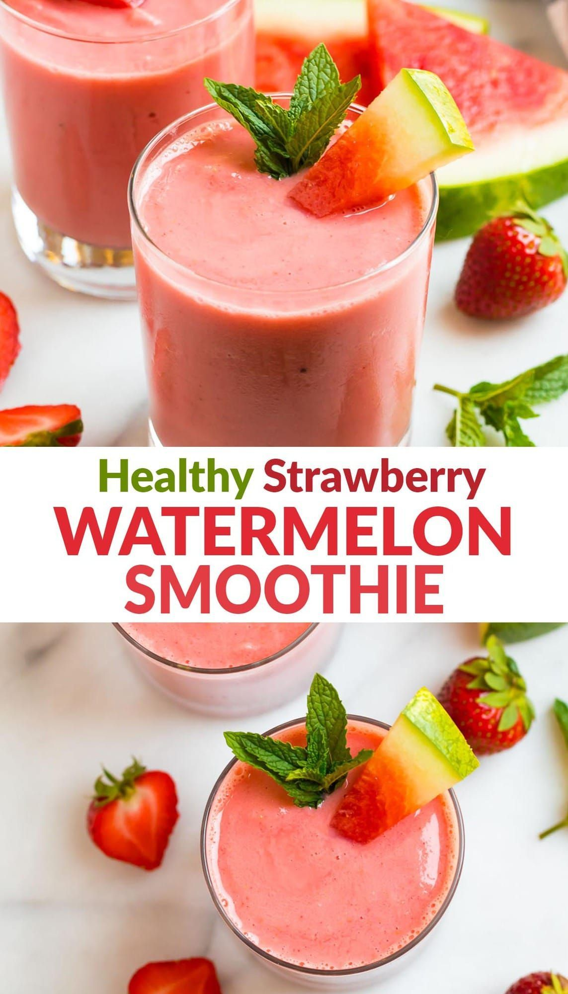 Watermelon Smoothie In 2020 Watermelon Smoothies Watermelon Smoothie Recipes Smoothie Recipes Healthy