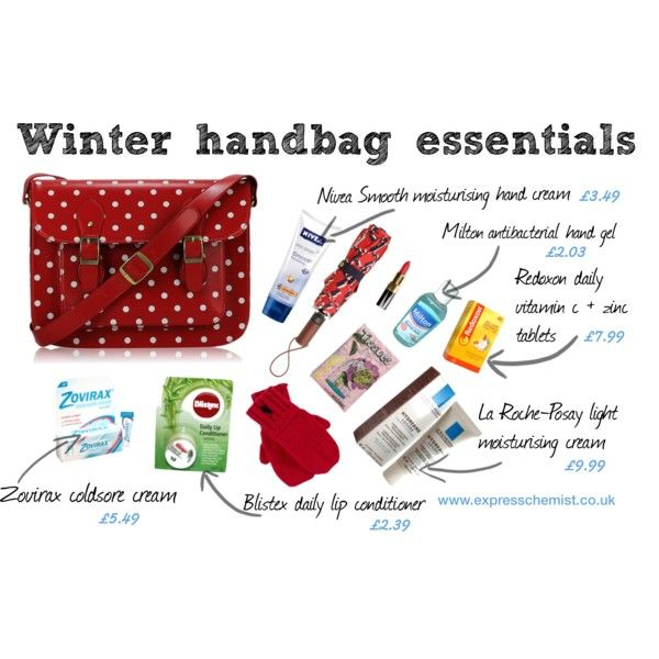 Winter Handbag Essentials Carry On Purse Whats In Your What