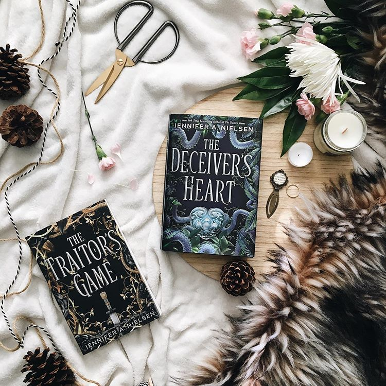 The Traitors Game And The Deceiver S Heart By Jennifer A Nielsen Photo Courtesy Of Cantstop Wontstop Reading Ig Happy Weekend Fantasy World Do You Like It