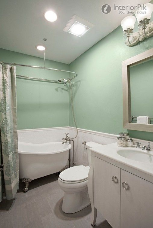 Light green bathroom decoration picture book 2012 picture | Bathroom ...