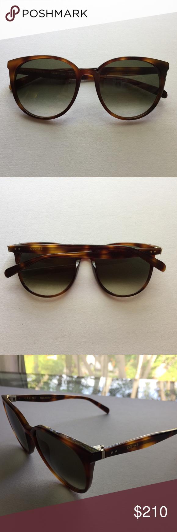 d4339d101ebd Céline Tortoise Round Cat Eye Sunglasses MODEL  Thin Mary COLOR  Havana ( Tortoise