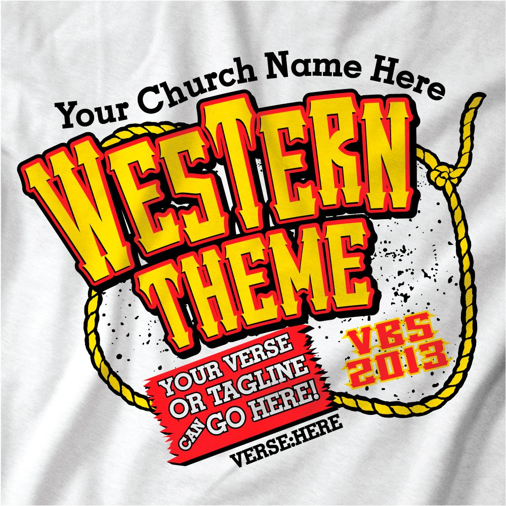 western vbs theme t