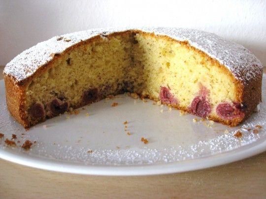 Eierlikör-Kirsch Kuchen