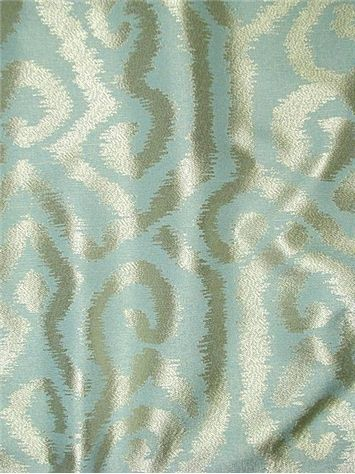 Currier Mist   Ikat Damask Jacquard Decorator Fabric. Soft U0026 Durable.  Perfect For Window