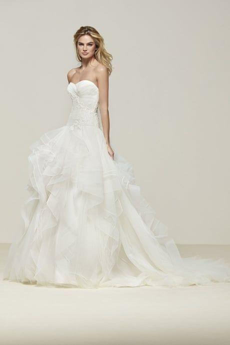 ca582db45e4 Robe de mariée Draliana de Pronovias Свадебный Наряд