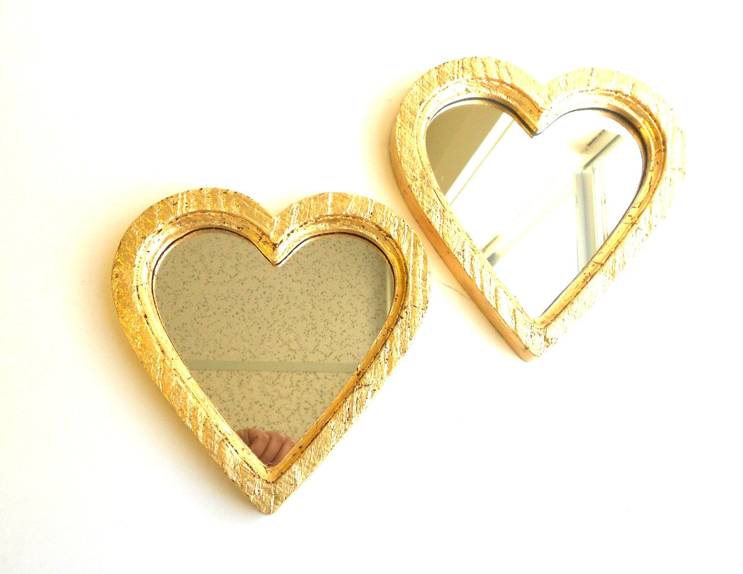 8x7.75, Mirrors Gold, Heart Mirrors, Decorative Mirrors, Wall ...