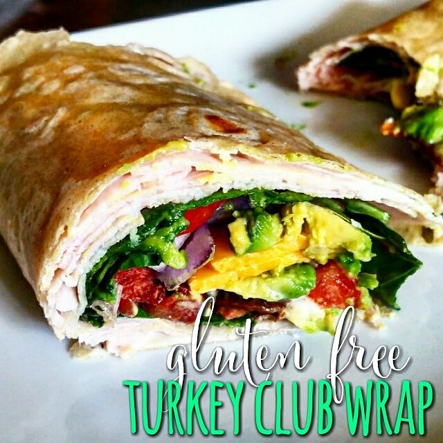 Turkey Club Wrap Jess Dukes Yummmmmy To Try Food