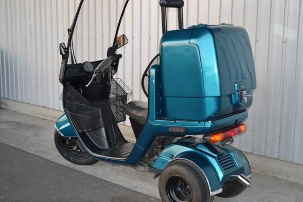 ホンダ ジャイロキャノピー 緑 中古車 現状販売 Hb008 ヤフオク キャノピー 中古車 ジャイロ