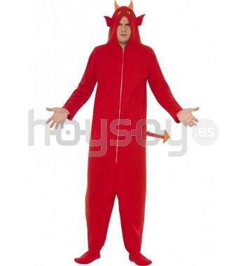 #Disfraz de demonio clásico. Este disfraz está compuesto por: mono con capucha #Halloween #Disfraces #Carnaval