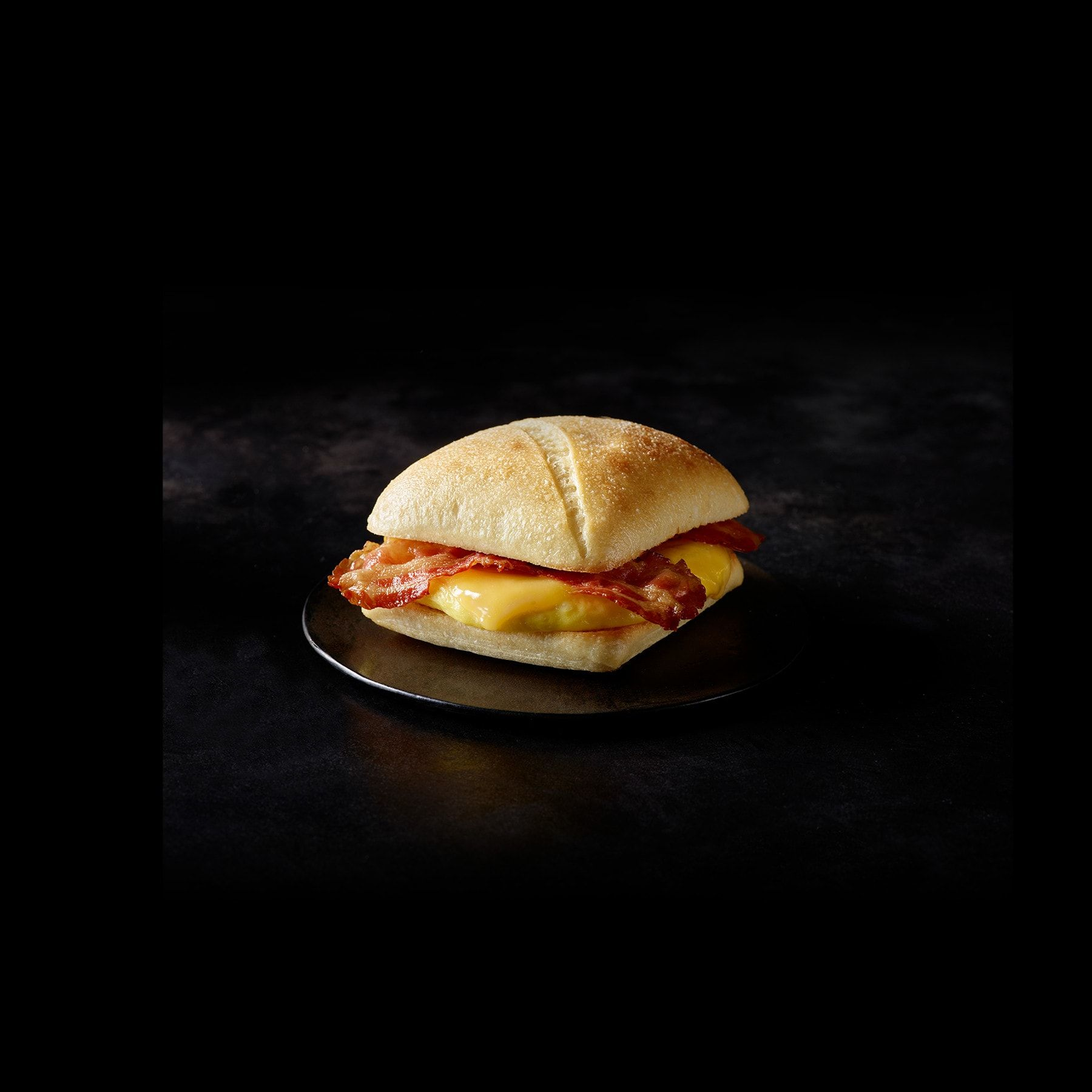 Starbucks - Bacon Gouda & Egg-Nutrition Facts Per Serving (116 g)Calories 370	Calories from Fat 170% Daily Value*Total Fat 19g	29%Saturated Fat 7g	35%Trans Fat 0g	Cholesterol 165mg	55%Sodium 850mg	35%Total Carbohydrate 32g	11%Dietary Fiber 1g	4%Sugars 1g	Protein 18g #eggnutritionfacts