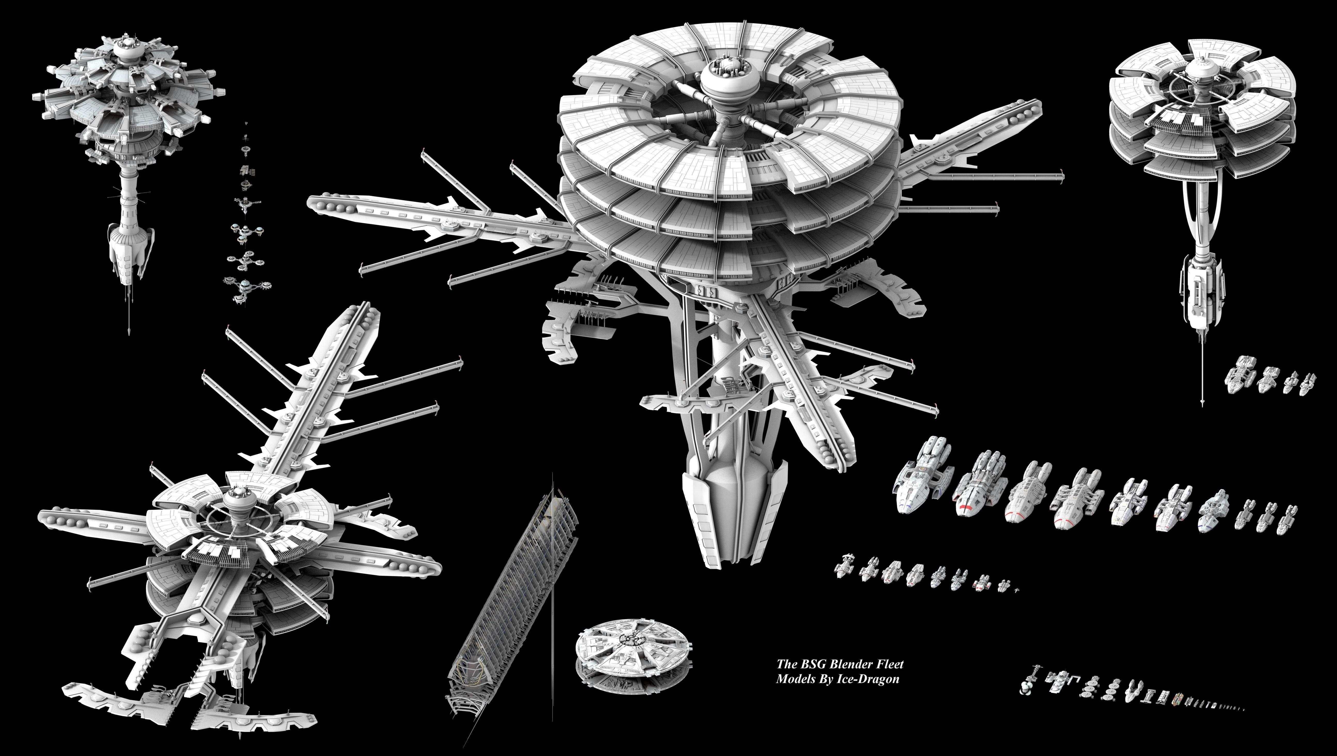 10687985_762819180431649_7620841305929268566_o.jpg 2,048 ...  |Battlestar Galactica Spacecraft