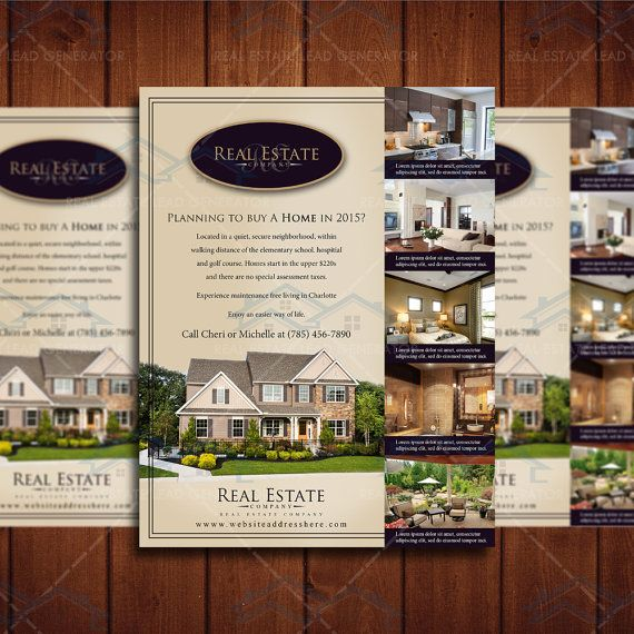 Community Property Listing Design Listing Magazine Template Real
