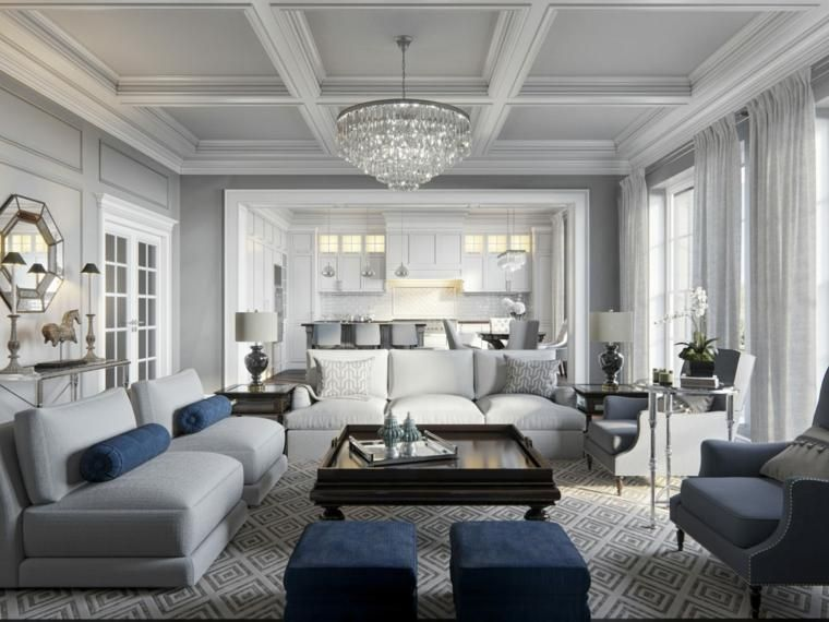 #Interior Design Haus 2018 Offene Küchen Zum Wohnzimmer   Ideen Für Design  Und Dekoration #