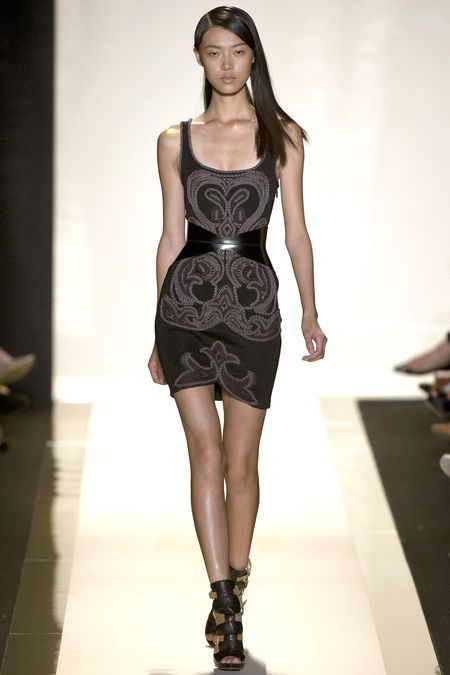 Herve Leger Spring '13   http://www.renttherunway.com/designer_detail/herv%C3%A9l%C3%A9ger    Repin your favorite #NYFW looks to get them from the Runway to #RTR!