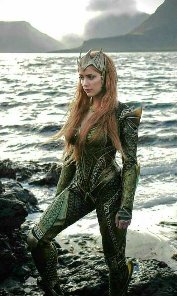 Mera From Jla Movie Amber Heard Aquaman Mera