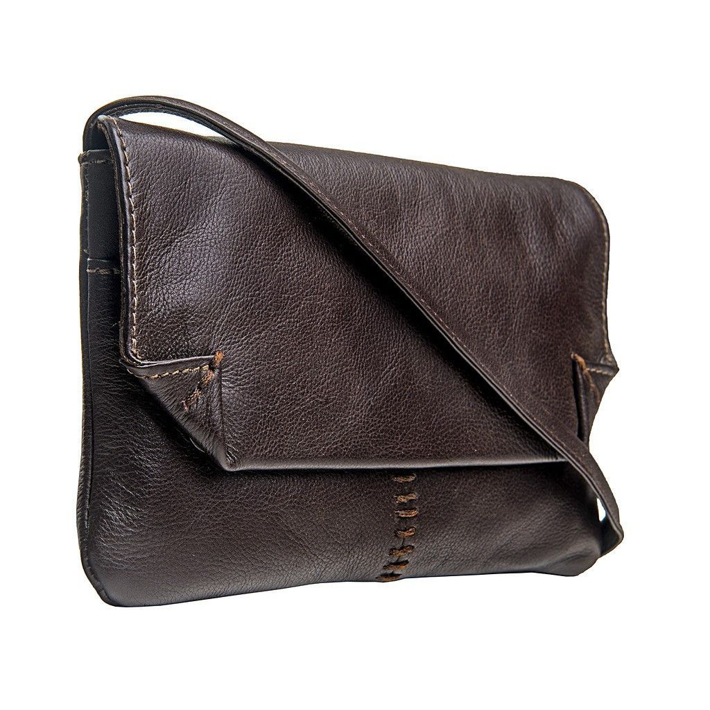 Stitch Leather Handcrafted Cross Body, Brown