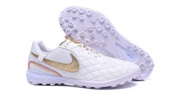 77821e9d3 Comprar 2018 Nike Lunar LegendX 7 Pro 10R TF Botas de futbol Blanco Plata  Nuevas En