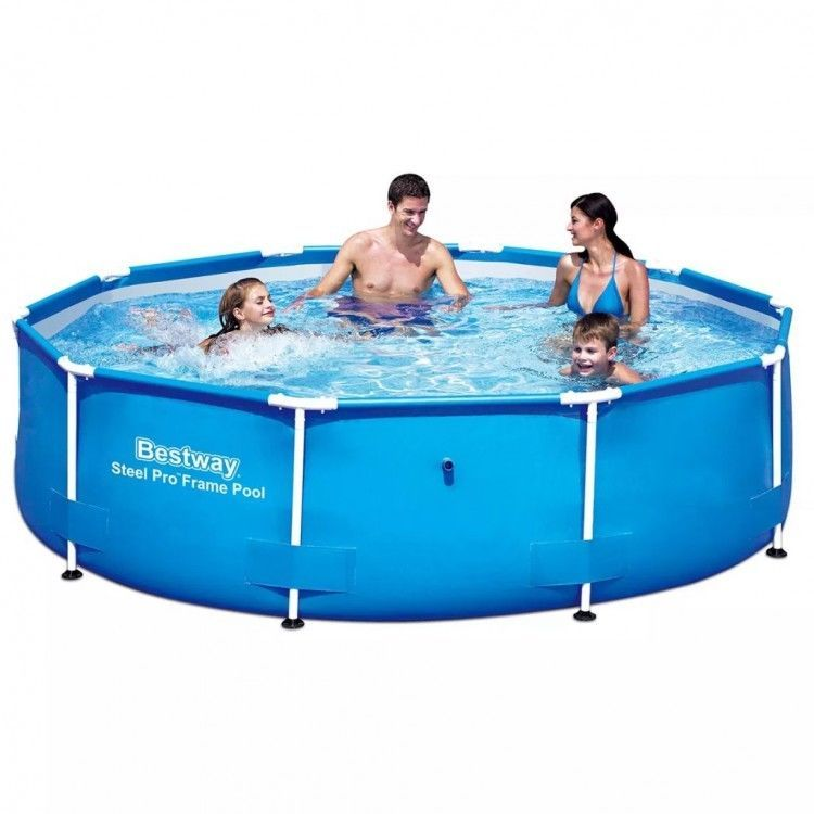 Above Ground Swimming Pool Paddling Steel Family Round Portable