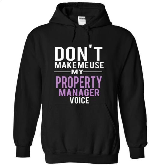 PROPERTY MANAGER - voice - design a shirt #mens t shirts #long sleeve tee shirts