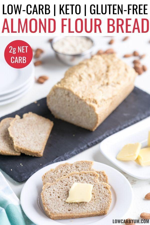Almond Flour Bread (Keto, Low Carb)