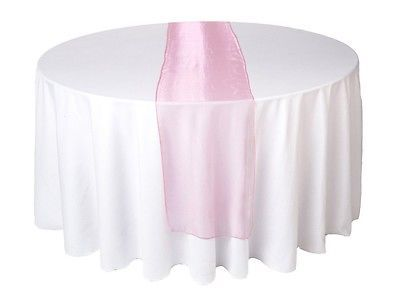 Wedding Organza Table Runners Many Colours New Uk Dressing Reception