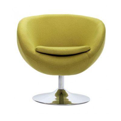 Corrigan Studio Colorado Springs Occasional Arm Chair Color: Pistachio Green