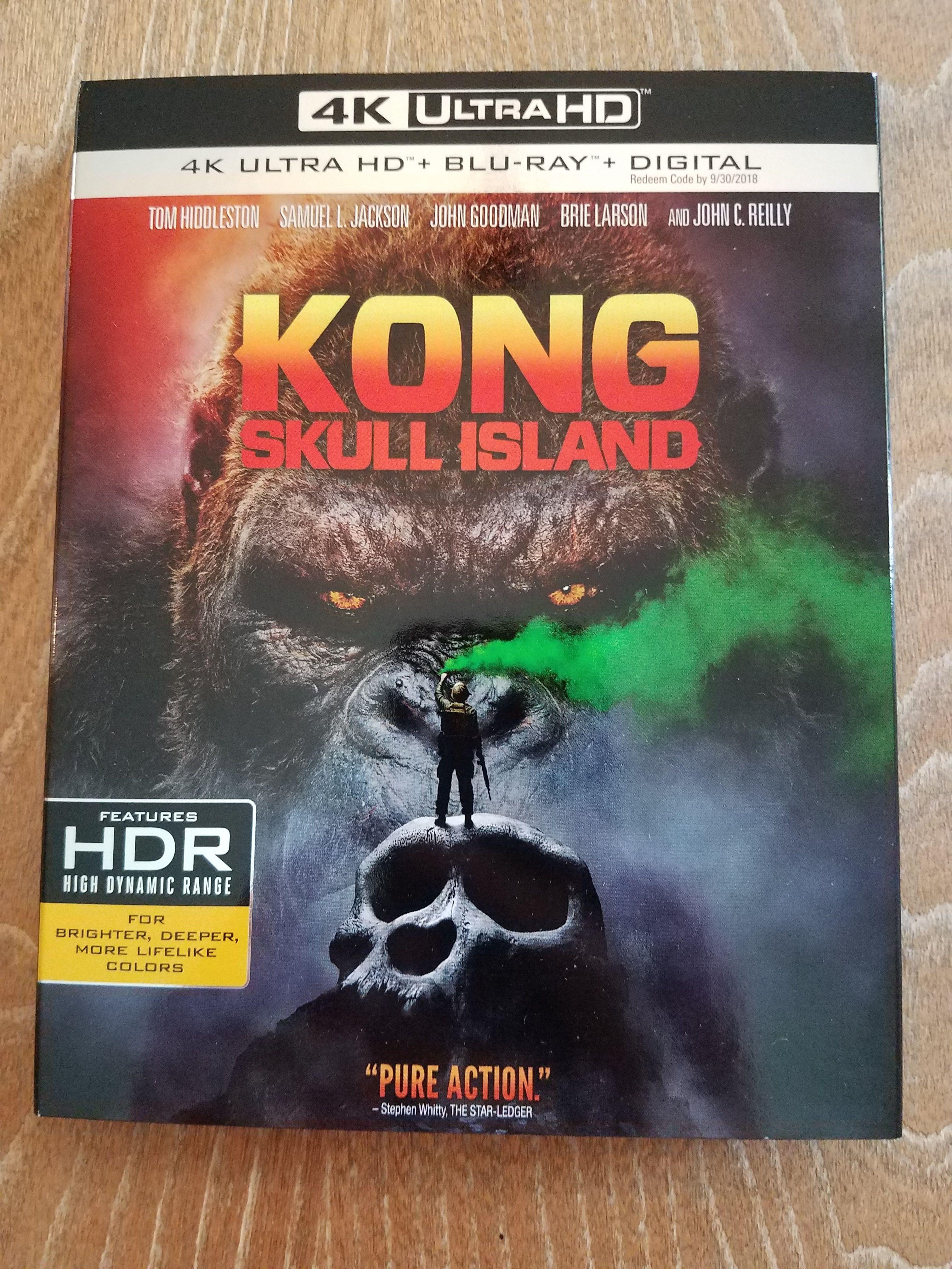 Kong Skull Island 4k 2017 Uhd Ultra Hd Blu Ray Pre Orders Just Came In Http Www Hdmoviesource Com Kong Skull Island Skull Island Kong Legendary Pictures