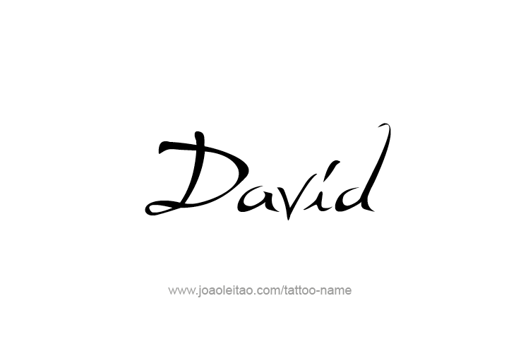 5a9bae7935769 David Prophet Name Tattoo Designs | ♡ David & Nicole ♡ | Pinterest