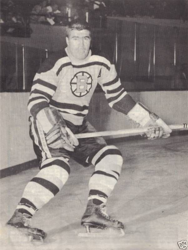Fleming Mackell Boston Bruins Boston Sports Stars Hockey