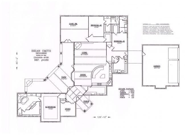 Brian Smith Designers - Premier Custom Home Designs & Layouts ...
