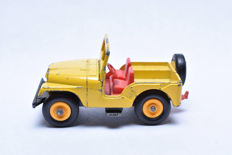 Matchbox Lesney No. 72 Jeep CJ, Standard Jeep, Yellow