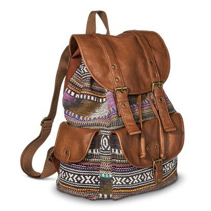 Mossimo Supply Co. Backpack Handbag - Multicolored My New Backpack ...