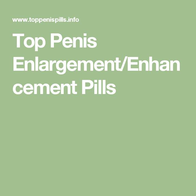 top penis enlargement