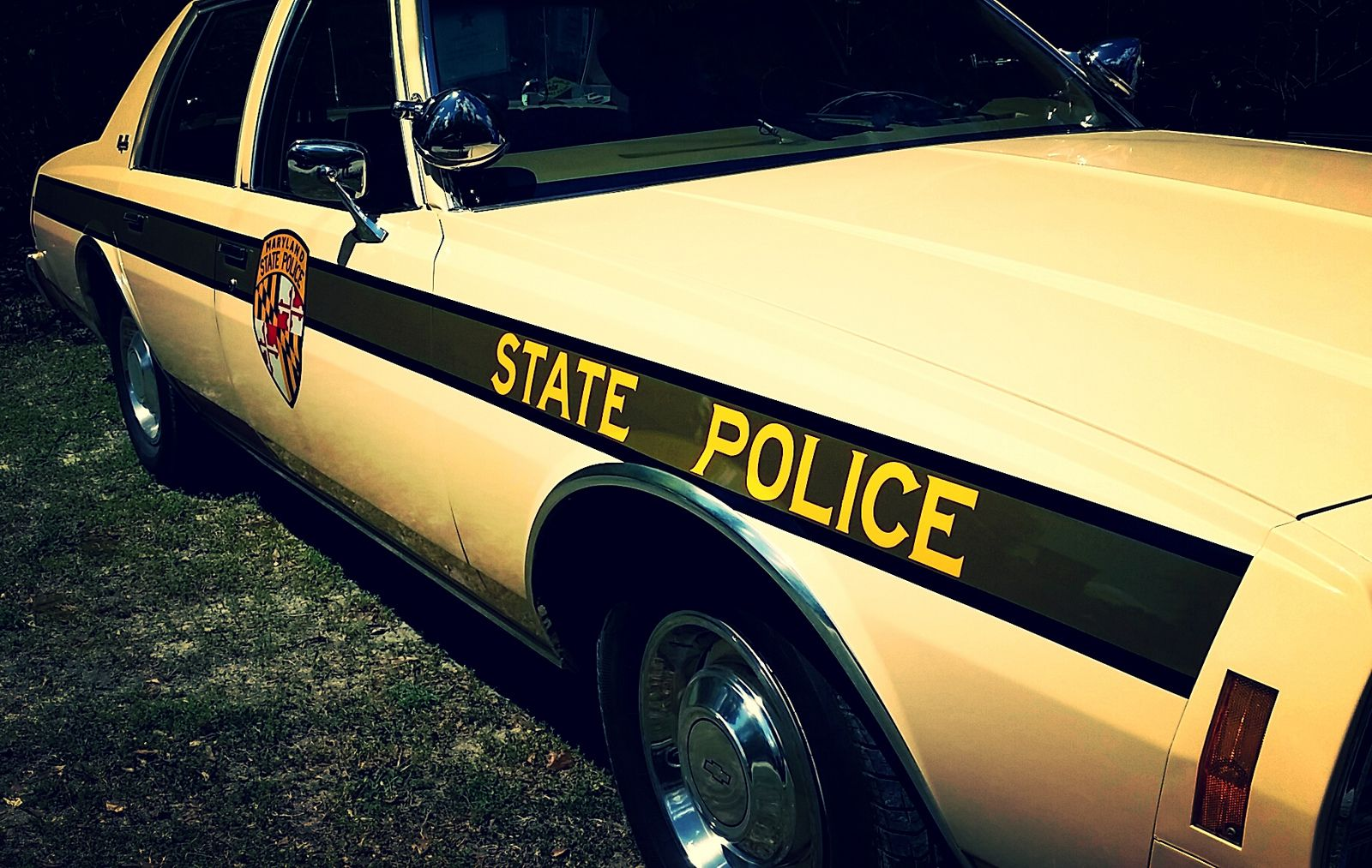 Vintage Chevy Impala / old Maryland State Police   State police ...
