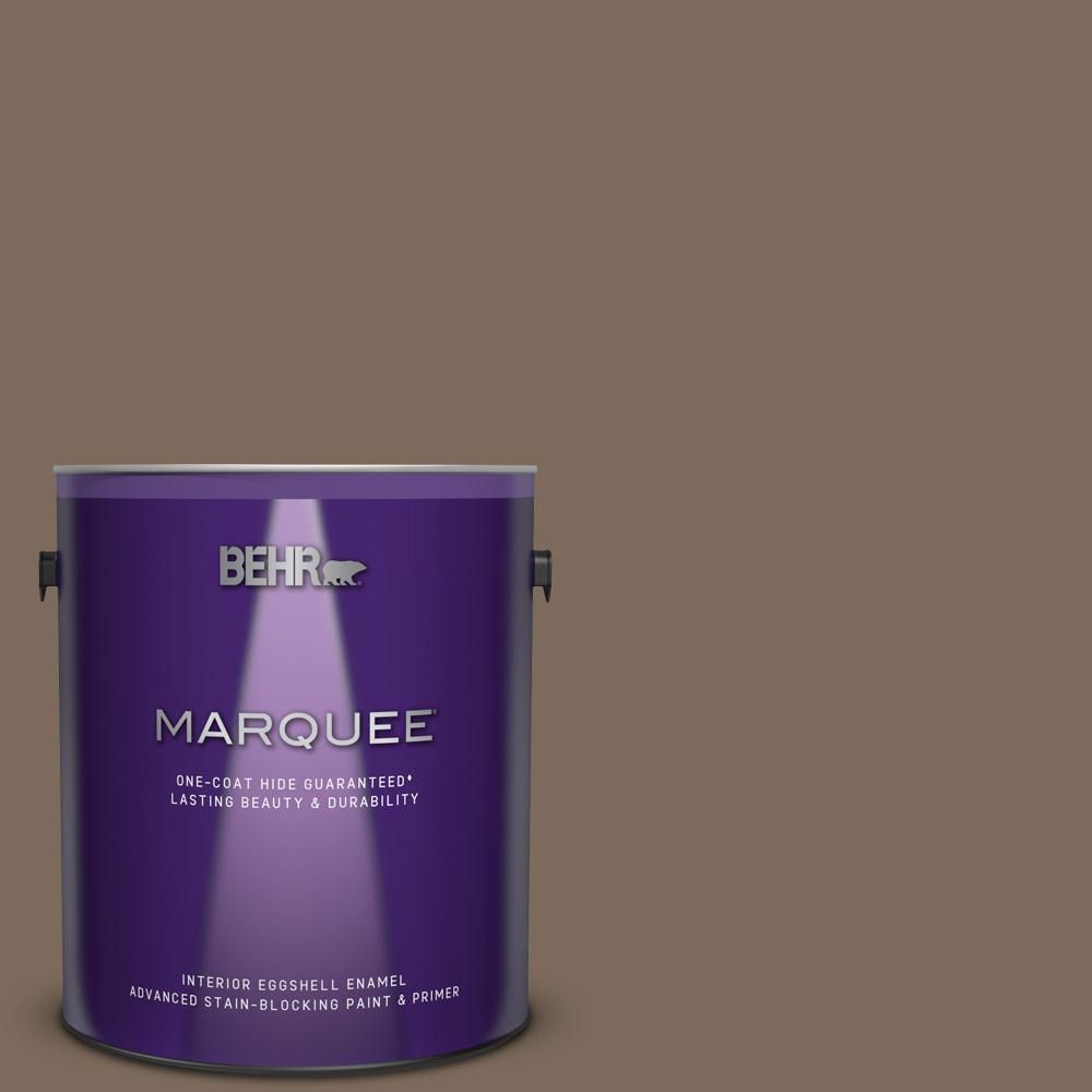 Behr Marquee 1 Gal Qe 23 Chalet Eggshell Enamel Interior Paint And Primer In One 245301 Behr Marquee Behr Marquee Paint Interior Paint